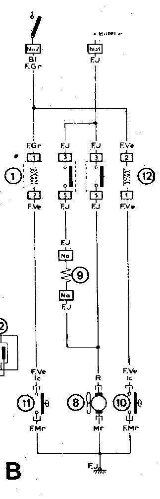 citroen cx 2200 radiator fan switch wiring wiring diagrams electric fan relay wiring diagram citroen cx ma, mk2 2 2 radiator fan